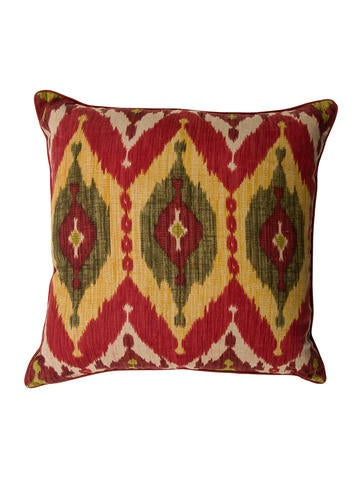 Throw Pillows Ikat : Throw Pillow Ikat Throw Pillow - Pillows And Throws - PILLO20240 The RealReal