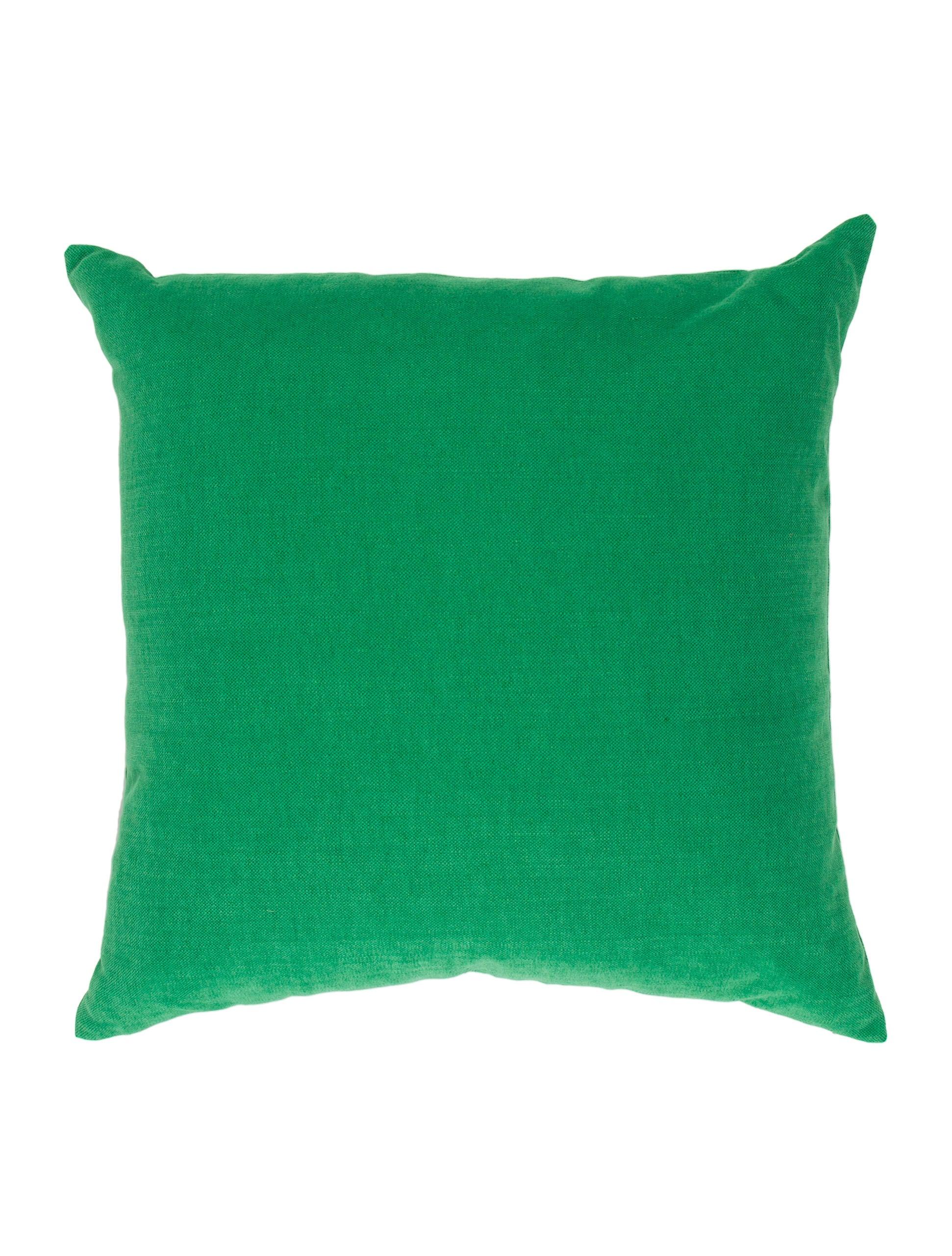 Canvas Throw Pillows - Bedding And Bath - PILLO20274 The RealReal