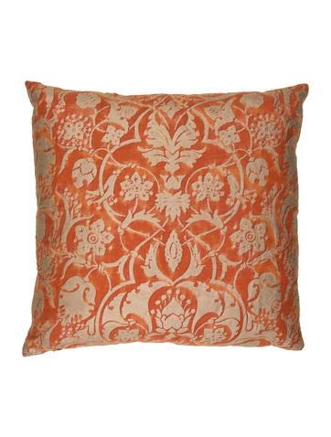 Brocade Throw Pillow None