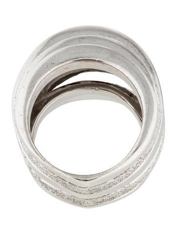 pianegonda sterling silver multi band ring rings