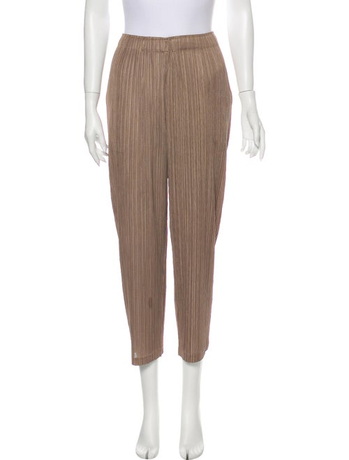 Pleats Please Issey Miyake Straight Leg Pants - image 1