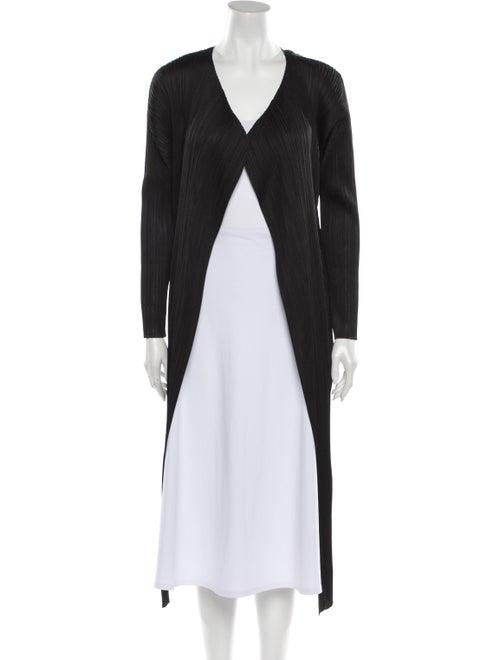 Pleats Please Issey Miyake Coat Black