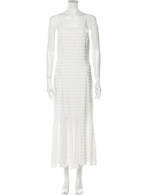Paloma Wool Striped Long Dress Wool