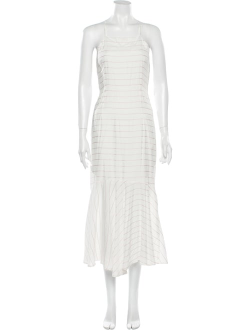 Paloma Wool Striped Midi Length Dress Wool