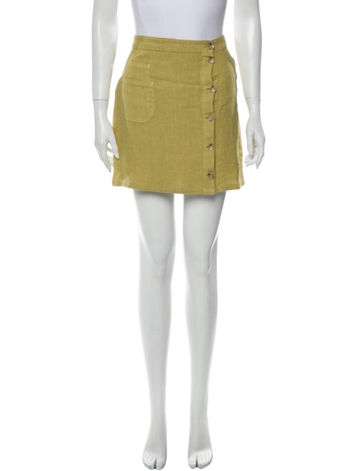 Paloma Wool Mini Skirt Wool