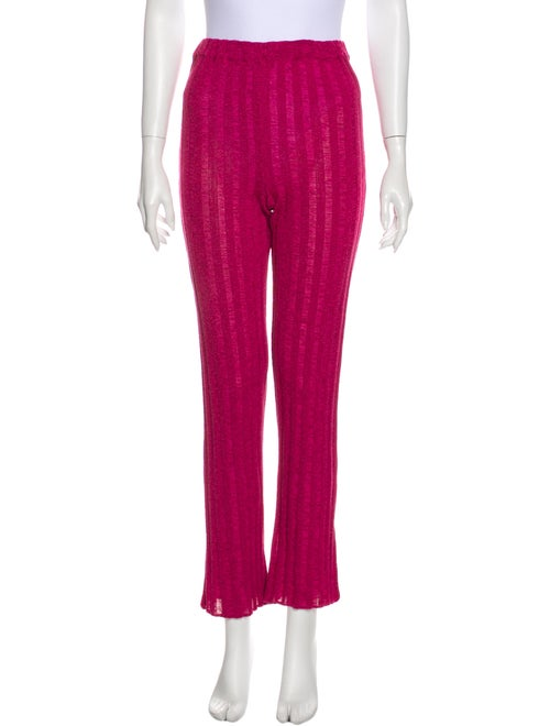 Paloma Wool Straight Leg Pants Wool