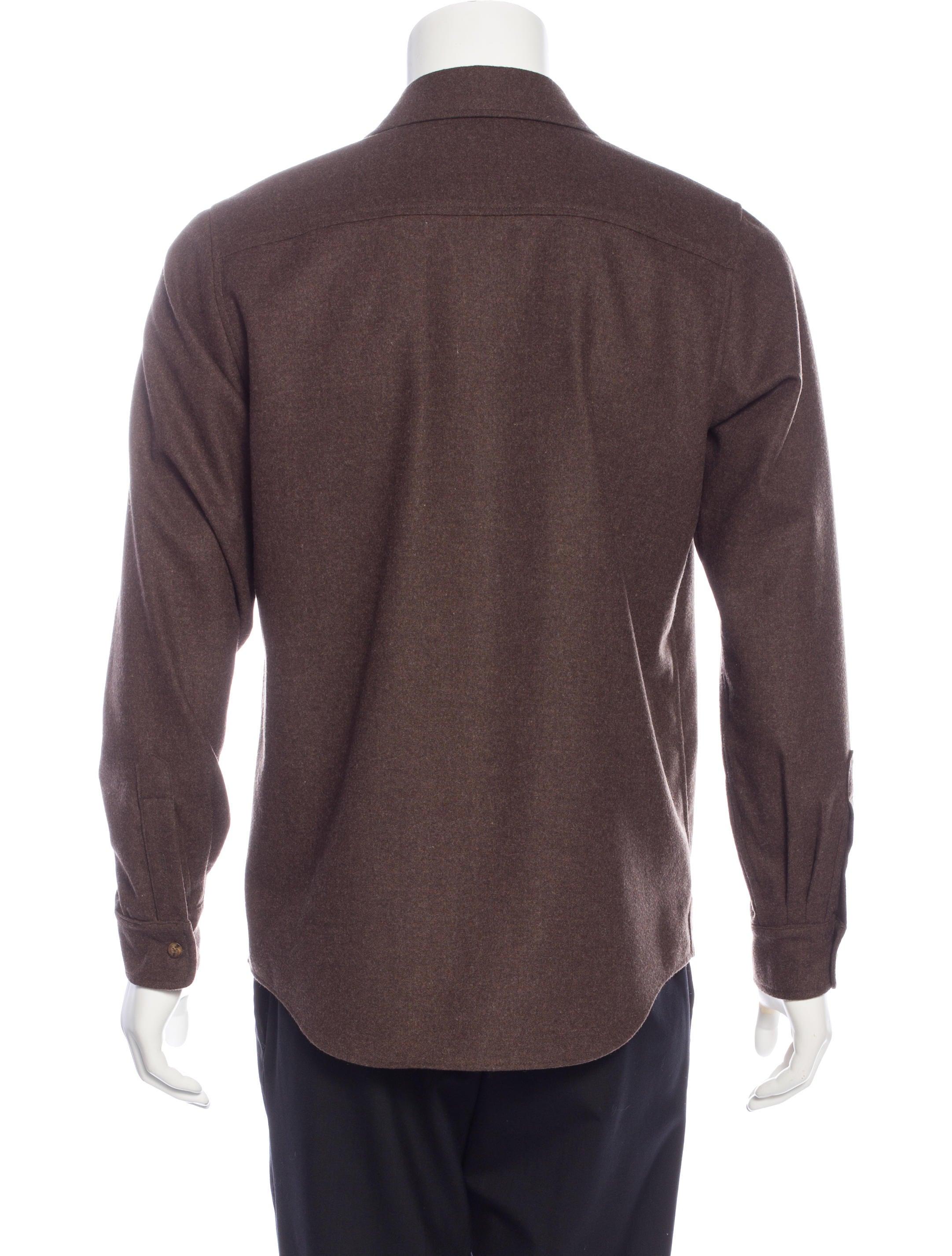 Pendleton virgin wool flannel shirt clothing for Mens wool flannel shirt