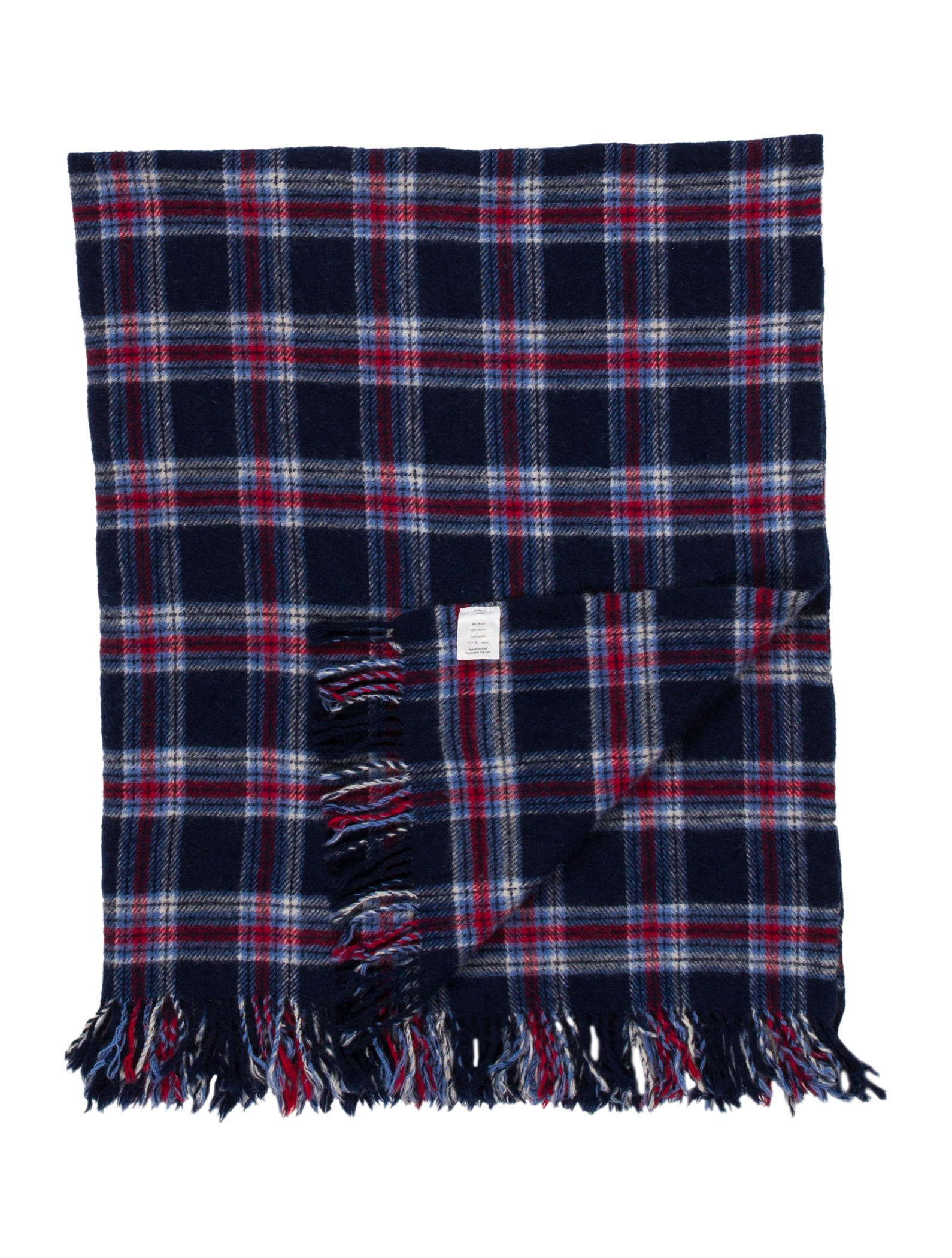 Pendleton Wool Plaid Throw Blanket - Pillows And Throws - PNDDL20022 The RealReal