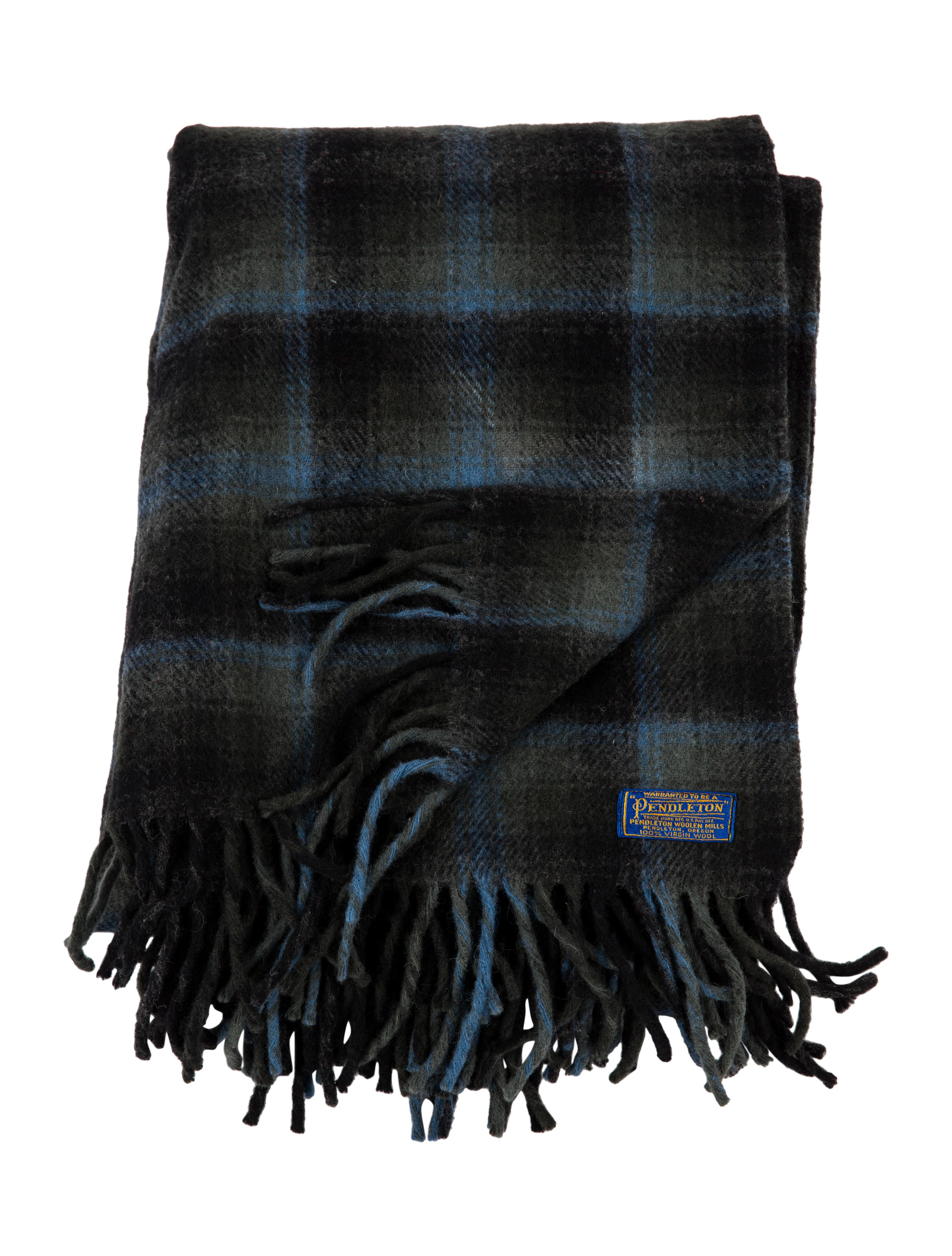 Pendleton Wool Throw Blanket - Pillows And Throws - PNDDL20025 The RealReal