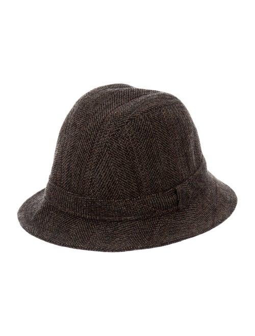 Pendleton Tweed Bucket Hat Brown