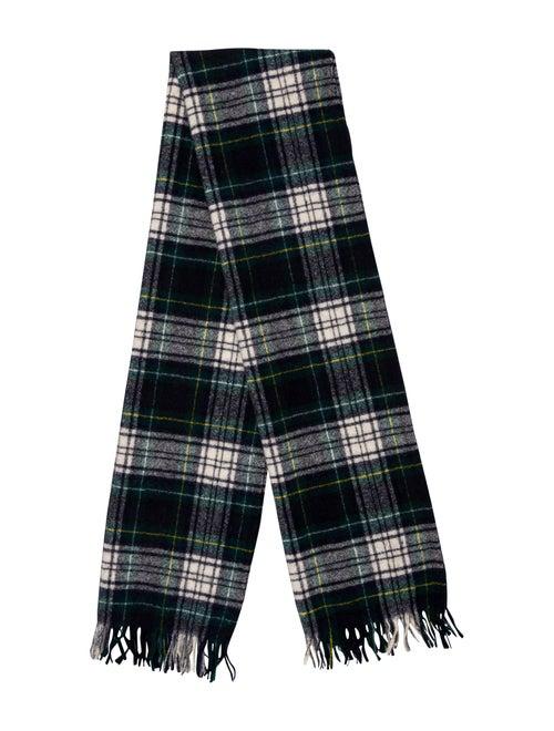 Pendleton Virgin Wool Plaid Scarf green