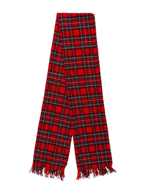 Pendleton Virgin Wool Plaid Print Scarf Wool