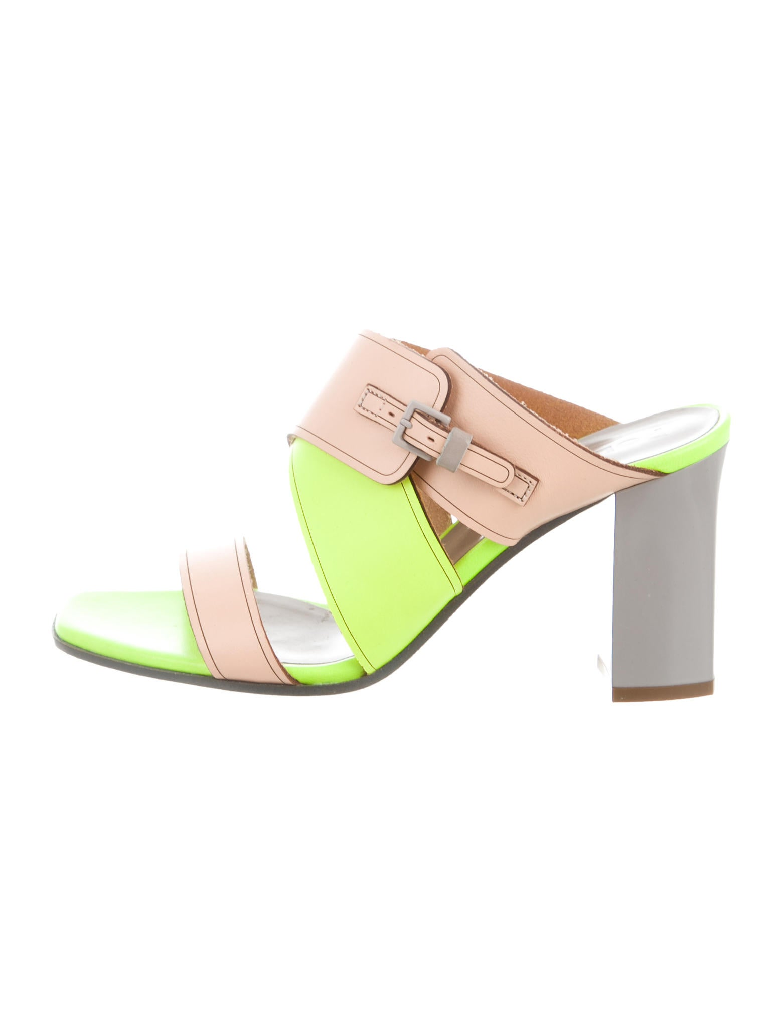 Pollini Crisscross Slide Sandals buy cheap 100% authentic buy cheap pay with paypal sale online shopping FzzA9XD651
