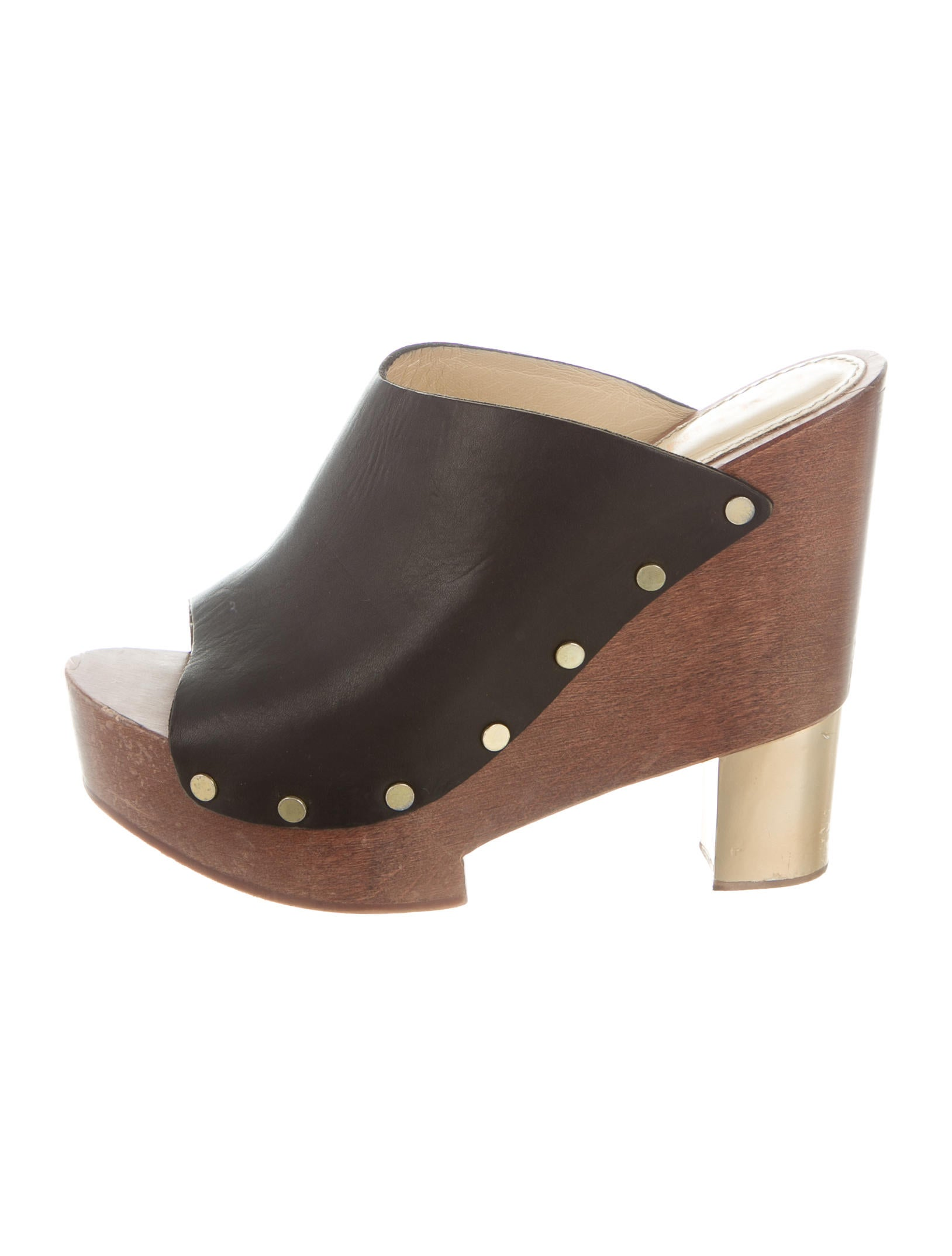 clearance nicekicks Pollini Leather Platform Sandals outlet purchase outlet wholesale price discount shop offer cheap price buy discount fNZQF2TR
