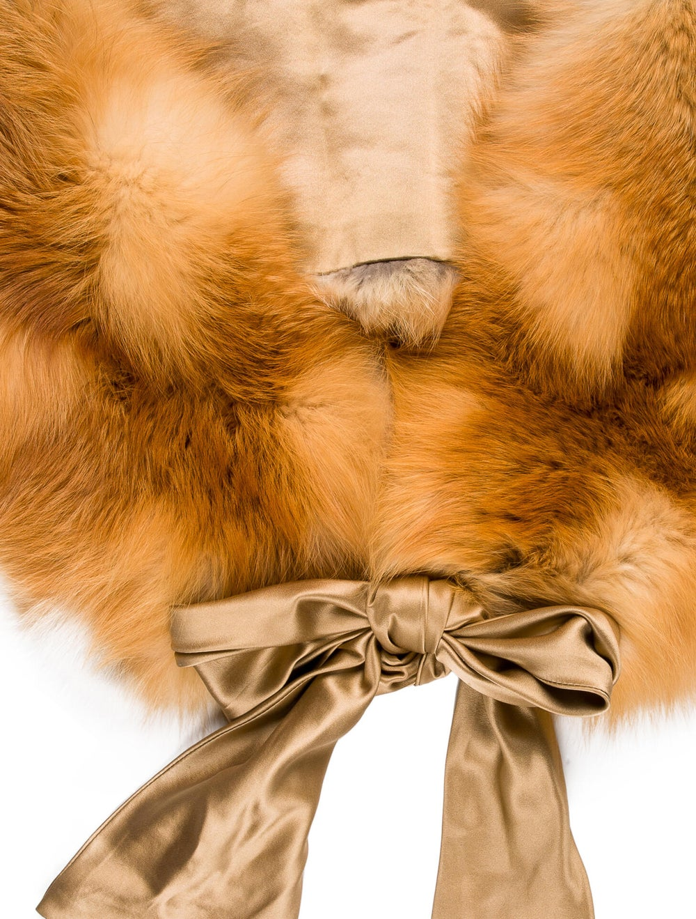 Pologeorgis Fox Fur Shawl tan - image 2