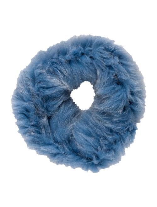 Pologeorgis Fur Snood Blue
