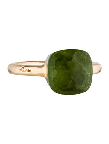 Pomellato Peridot Nudo Ring None