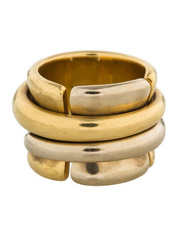 Pomellato 18K Two-Tone Spinning Ring None