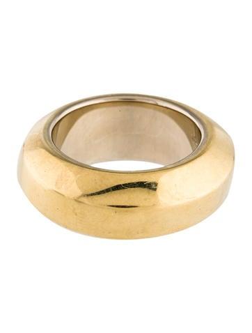 Pomellato 18K Wide Ring None