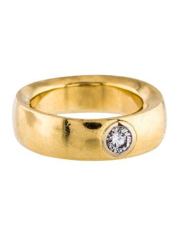Pomellato 18K Diamond Ring None