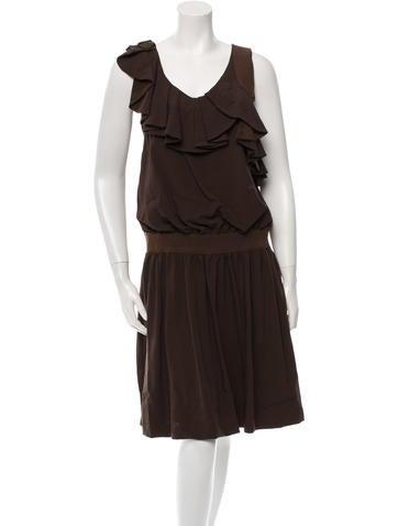Ports 1961 Wool Sleeveless Dress