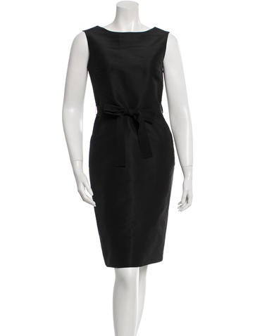 Ports 1961 Sleeveless Belted Dress None