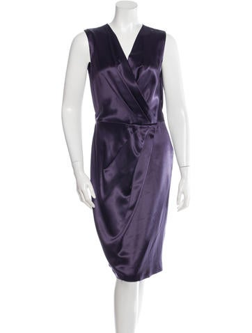 Ports 1961 Silk Sleeveless Dress None