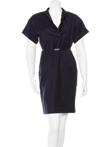 Ports 1961 Wool Knee-Length Dress None