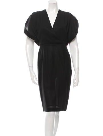 Ports 1961 Wool Midi Dress None
