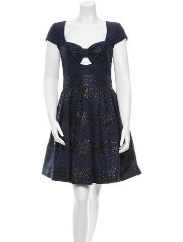 Ports 1961 Embellished Sleeveless Dress None