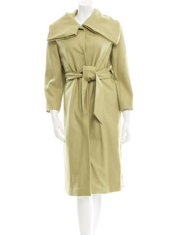 Ports 1961 Wool Long Coat None