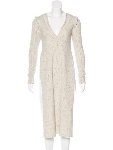 Ports 1961 Virgin Wool Longline Sweater None