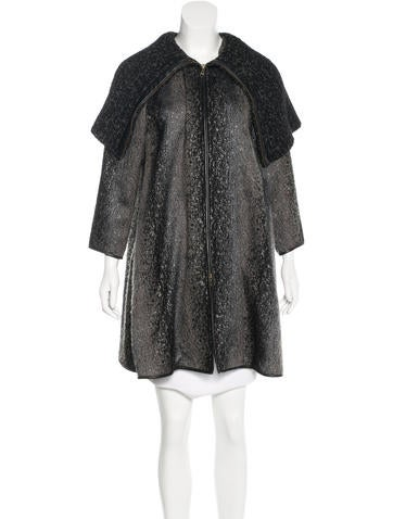 Ports 1961 Metallic Knit Coat None
