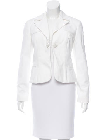Ports 1961 Fitted Notch-Lapel Blazer None