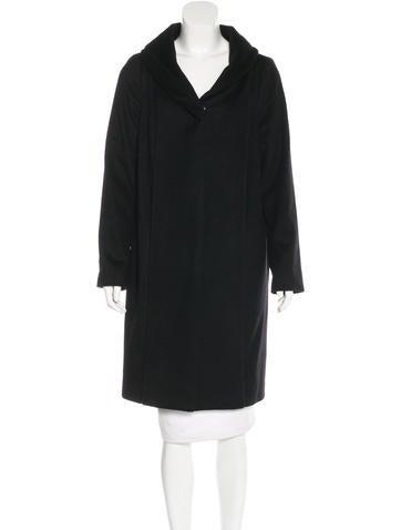 Ports 1961 Long Wool Coat None