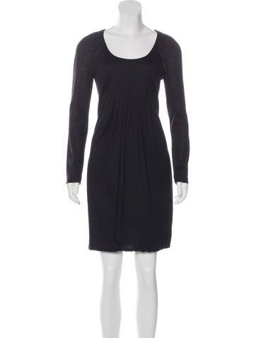 Ports 1961 Wool Bubble Hem Dress None