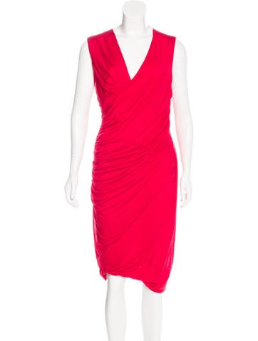 Ports 1961 Sleeveless Sheath Dress None