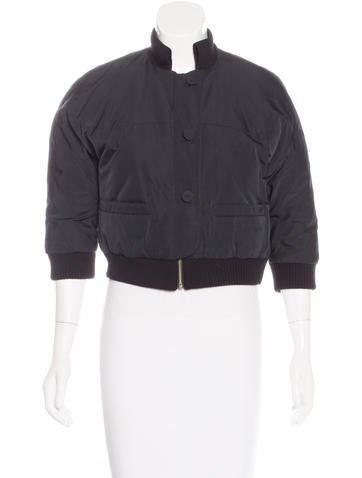Ports 1961 Cropped Three-Quarter Sleeve Jacket None