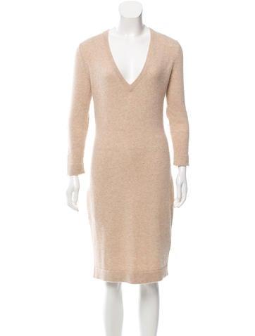 Ports 1961 Long Sleeve Sweater Dress None