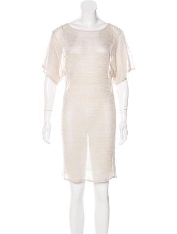 Ports 1961 Metallic Knit Dress None