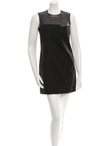 Ports 1961 Sleeveless Mini Dress None