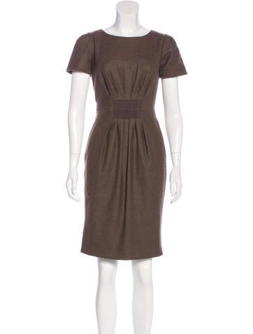 Ports 1961 Wool Sheath Dress None