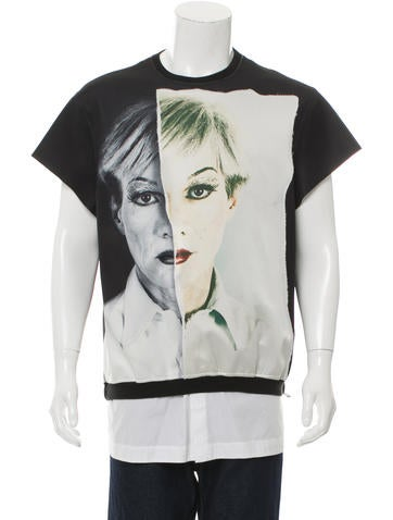 Christopher Makos x Ports 1961 Layered Two Face Sweatshirt None