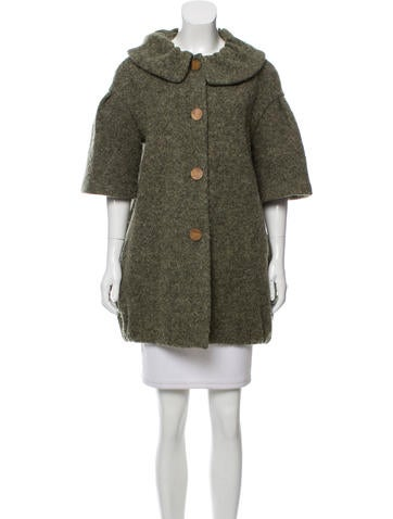 Ports 1961 Wool Short Sleeve Coat None