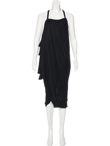 Ports 1961 Draped Sleeveless Dress None