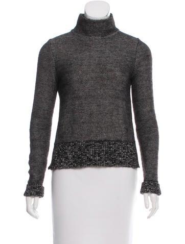 Ports 1961 Wool Turtleneck Sweater None