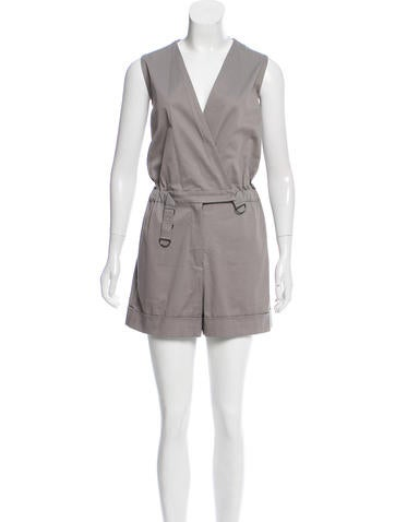 Ports 1961 Sleeveless Fitted Romper None
