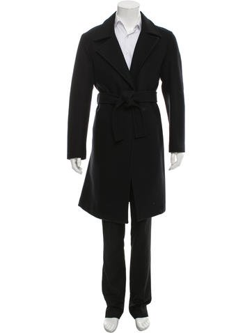Ports 1961 Belted Virgin Wool Coat None