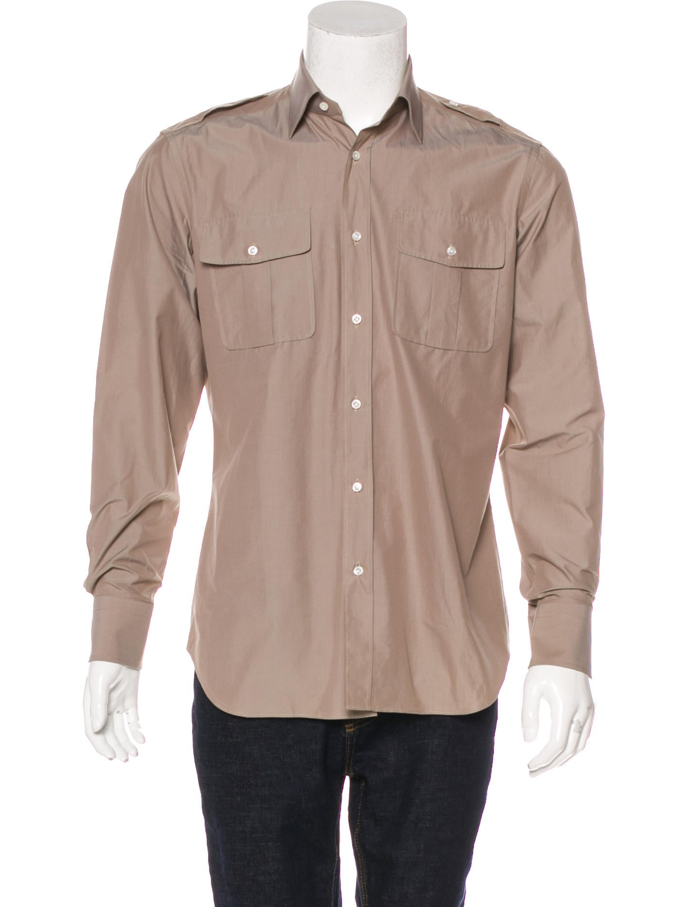 Ports 1961 woven button up shirt w tags clothing Woven t shirt tags