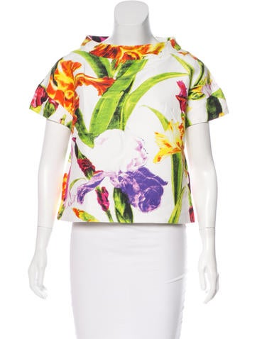 Ports 1961 Printed Short Sleeve Top None
